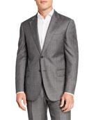 Emporio Armani Men's Sharkskin Two-Piece Wool Suit