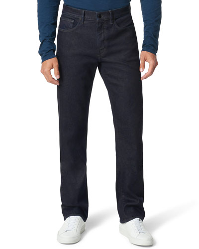 Men's Classic Mid-Rise Stretch Denim Jeans