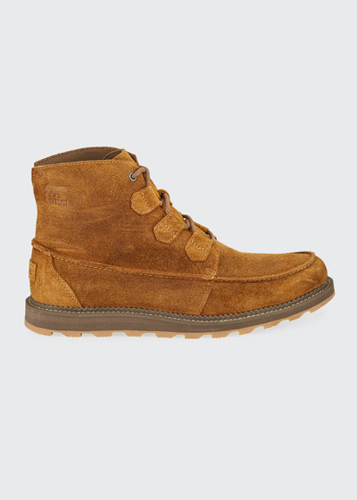 Men's Madson Caribou Tuman Waterproof Suede Boots