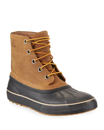 Men's Cheyanne Metro Waterproof Lace-Up Duck Boots