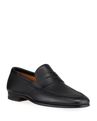 Men's Super Flex Leather Penny Loafers