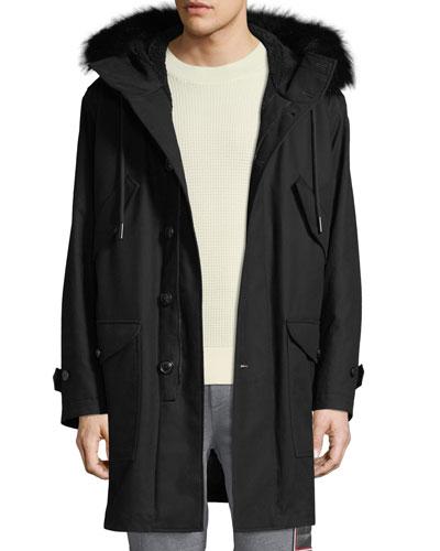d6c4b7f95 Moncler Hooded Jacket | Neiman Marcus