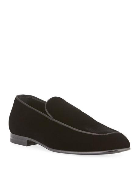 Ermenegildo Zegna Men's Belgian Velvet Loafers