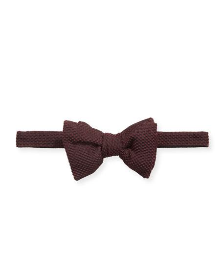 TOM FORD Men's Textured Silk-Blend Bow Tie