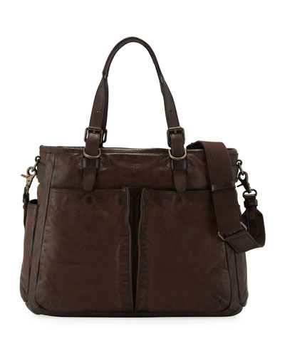 Men's Murray Leather Tote Bag