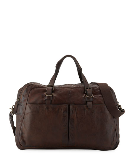 Frye Men's Murray Leather Duffel Bag