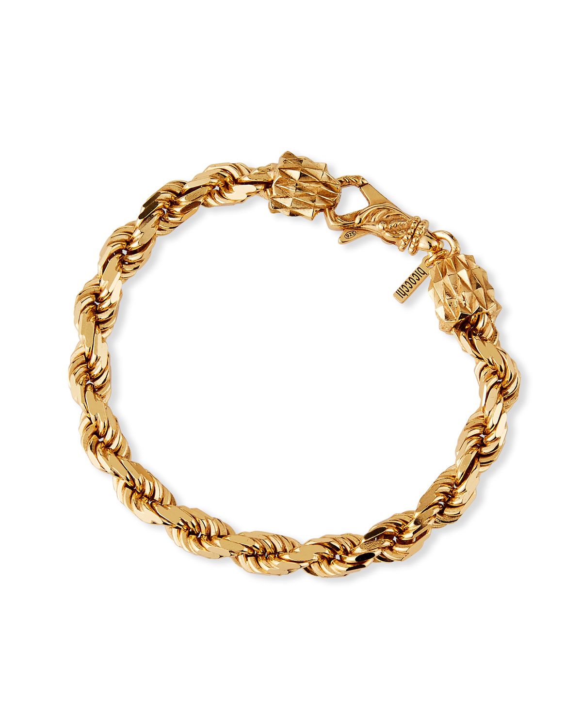 Men's French Rope Small Chain Bracelet