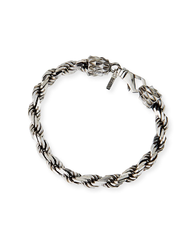 Men's French Rope Chain Bracelet