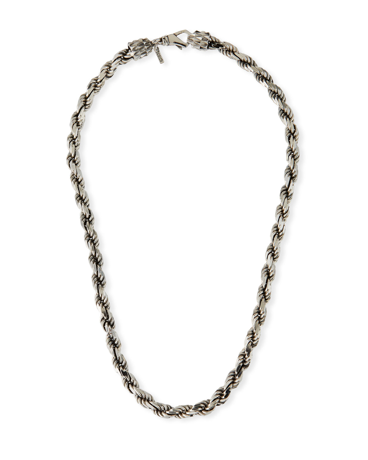 Men's French Rope Chain Necklace