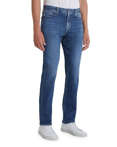 Men's Everett Slim Dark-Wash Jeans