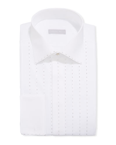 Men's Allover Crystal Formal Shirt