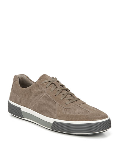 Men's Rogue Perforated Suede Sneakers