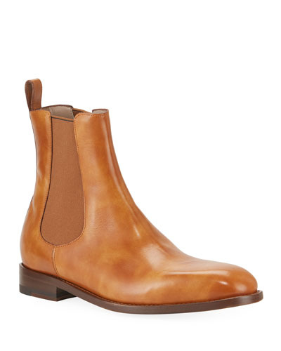 Men's Delsa Leather Chelsea Boots
