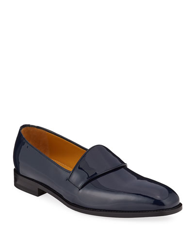 Men's Brumelius Patent Leather Loafers