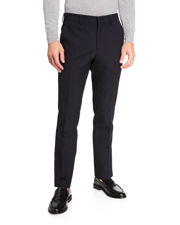 Burberry Suits MEN'S CLASSIC WOOL SUIT TROUSERS