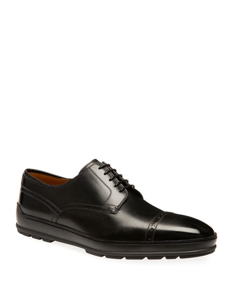Bally Men's Reigan Leather Derby Sneakers