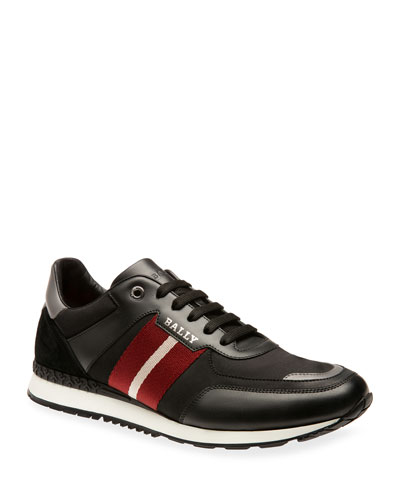 Men's Aseo Trainspotting Leather Sneakers