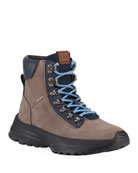 Coach Men's Hybrid Urban Suede Hiker Boots
