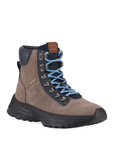 Men's Hybrid Urban Suede Hiker Boots