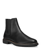 Coach Men's Leather Chelsea Boots
