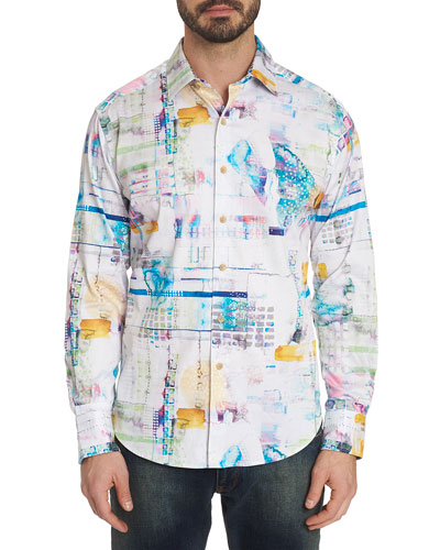 Men's Stagecoach Graphic Sport Shirt