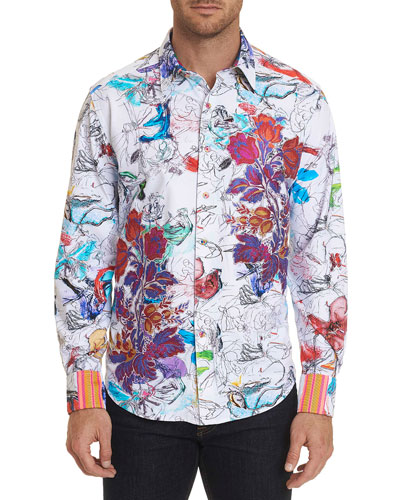 Men's Petal To The Metal Graphic Sport Shirt