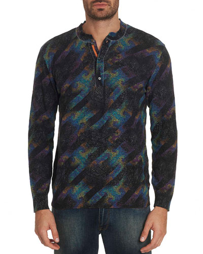 Men's Twelve Oaks Graphic Henley Shirt
