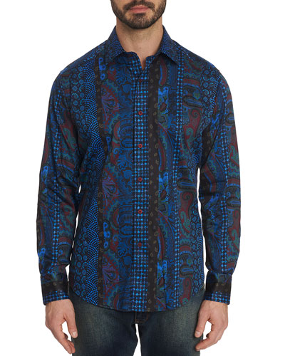 Men's Brasco Graphic Sport Shirt