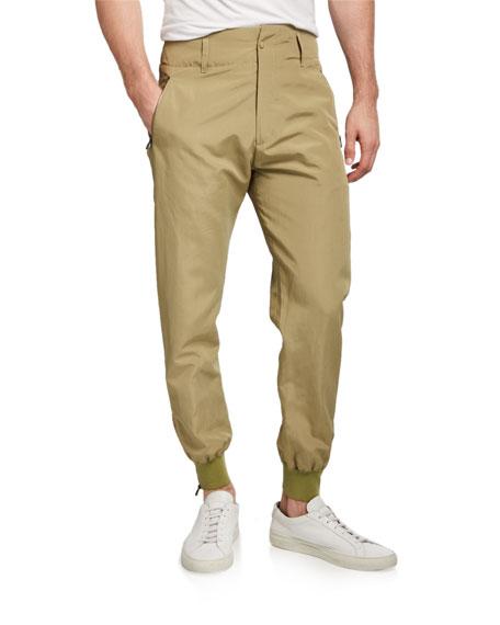 Salvatore Ferragamo Men's High-Rise Tapered Trousers