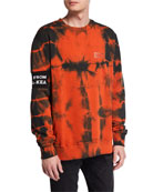 Mauna Kea Men's Tales Tie-Dye Sweatshirt with Logo
