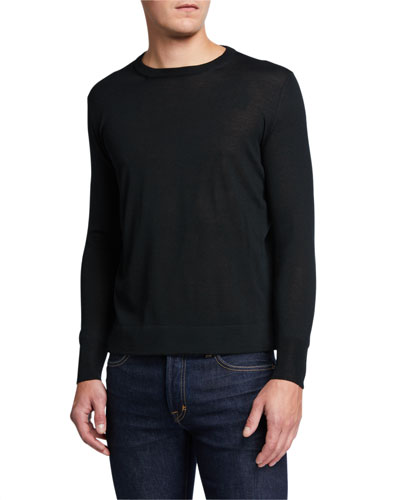 Crewneck Wool Sweater