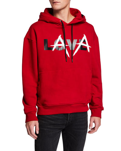 Men's Love Lava Pullover Hoodie