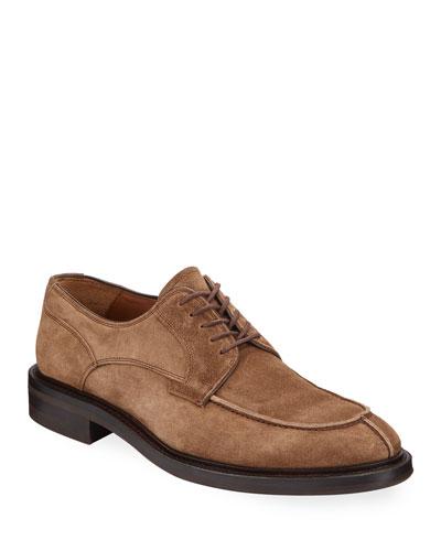 Men's Corbin Weatherproof Suede Derby Shoes