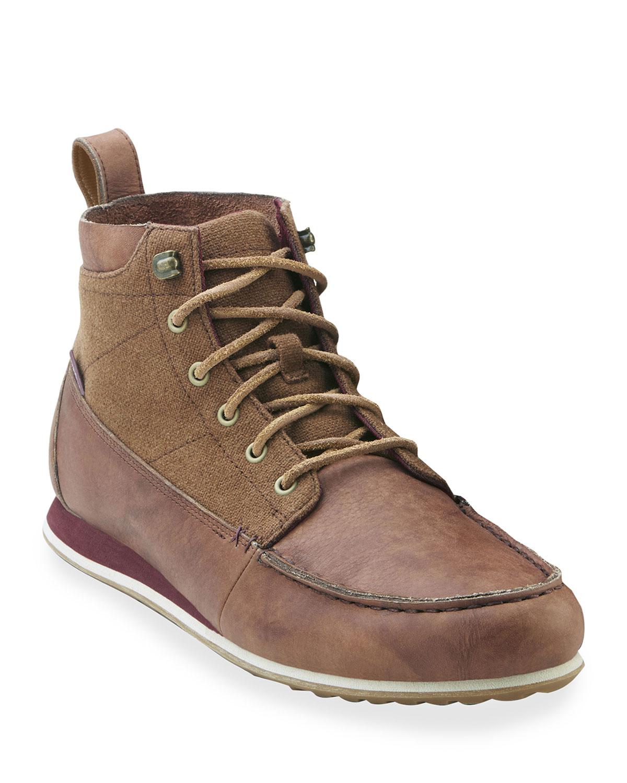 Men's Nokona CanyonTrek Leather/Hemp Chukka Boots