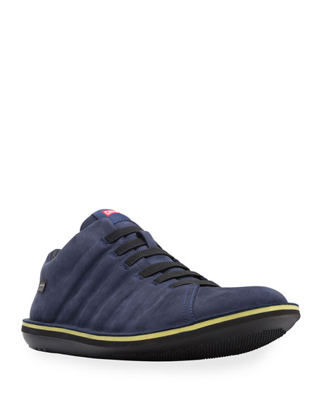 Camper Men's Beetle Winterproof Suede Sneakers