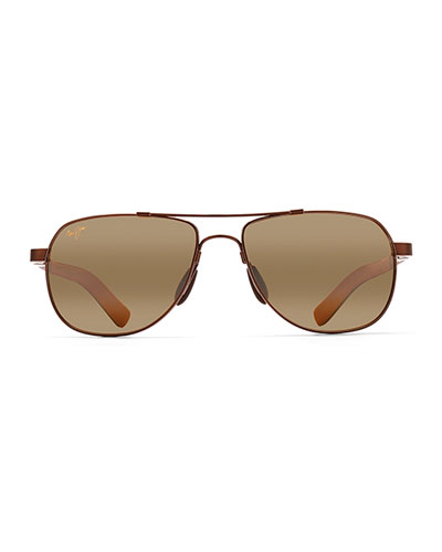 Men's Guardrails MauiFlex Polarized Aviator Sunglasses