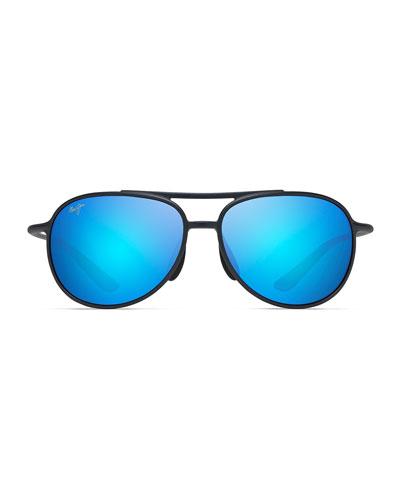 Men's Alele Bridge Polarized Aviator Sunglasses