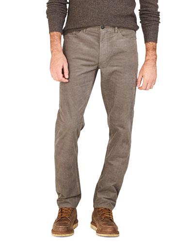 Men's Stretch-Corduroy 5-Pocket Pants