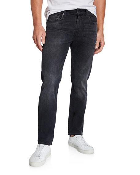 7 for all mankind Men's Slimmy Dark-Wash Jeans