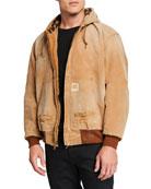 R13 Men's VTG Duck Thermal-Lined Jacket