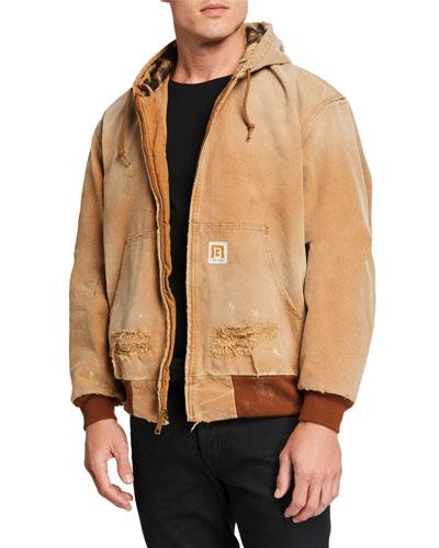 Men's VTG Duck Thermal-Lined Jacket