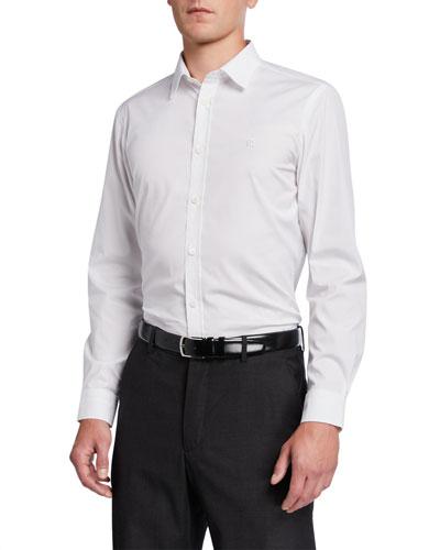 Men's Louis Classic Sport Shirt, White