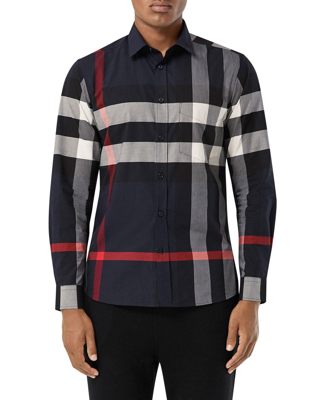 Men's Somerton Check Sport Shirt
