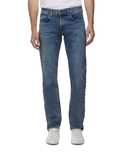 Men's Kane Straight-Leg French Terry Jeans