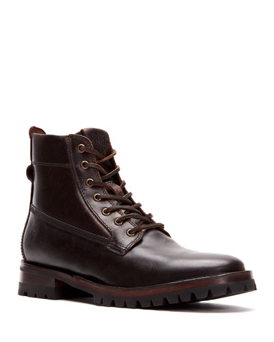 Men's Union Leather Work Boots