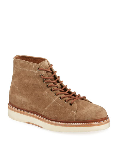 Men's Bryant Suede Lace-Up Ankle Boots