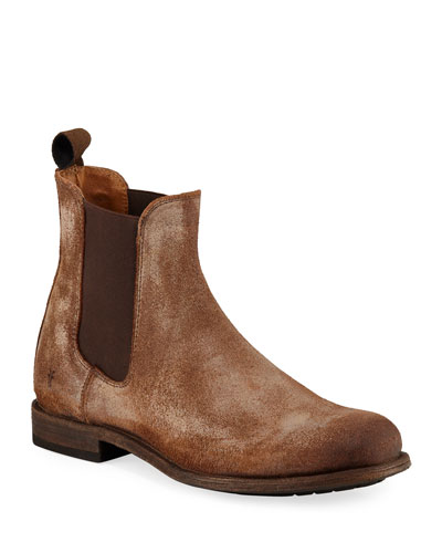 Men's Tyler Rustic Leather Chelsea Boots