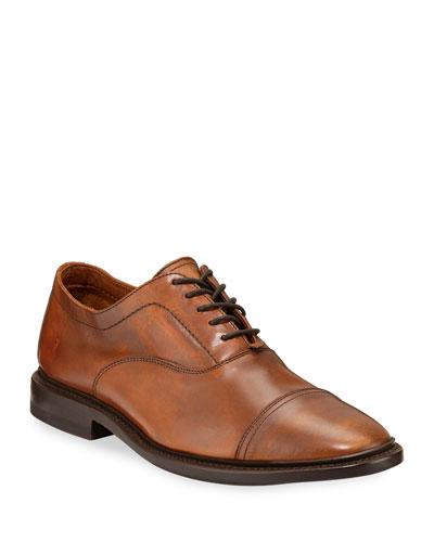 Men's Paul Bal Leather Oxford Shoes