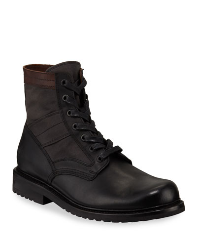 Men's Mayfield Leather Combat Boots