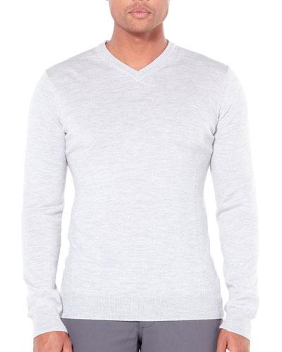 Men's Shearer Merino V-Neck Sweater